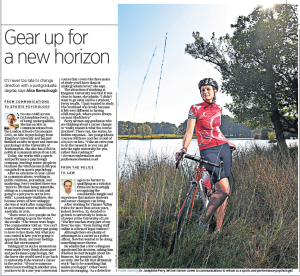 Sunday Telegraph piece
