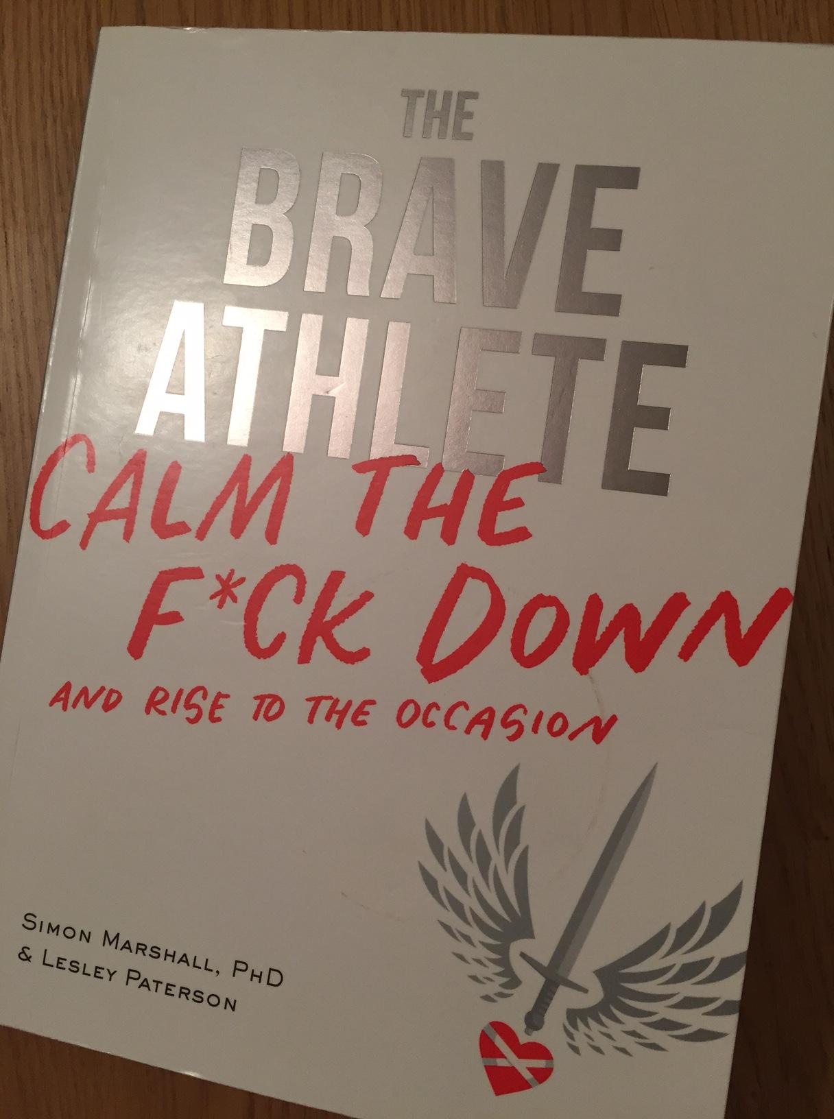 Brave athlete