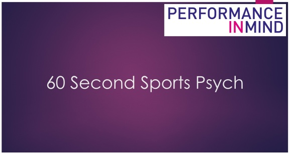 60 seconds sport psych title